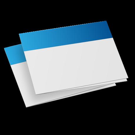 kartki składane